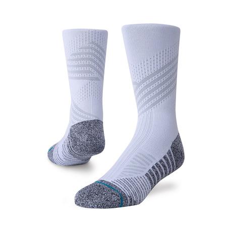 Athletic Crew Socks // White // 3-Pack (M)