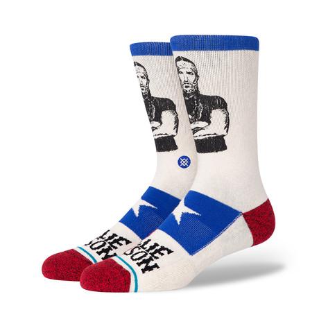 Willie Nelson Eagle Socks // Off-White (M)
