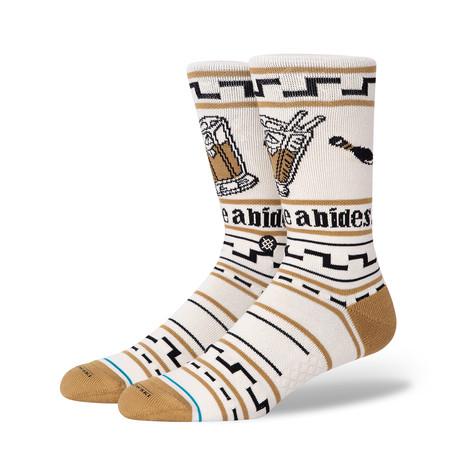 The Dude Socks // Tan (M)