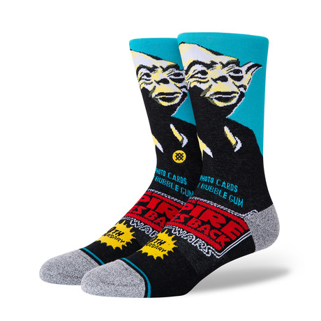Yoda 40th Socks // Blue (M)