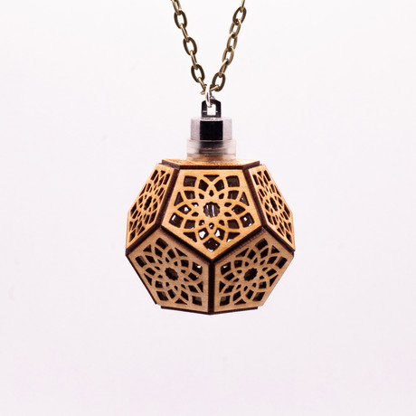 Lotus Dodecahedron // Cherry Wood