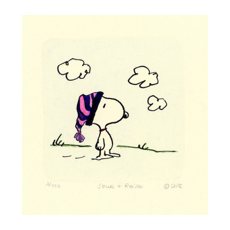 Snoopy // Hat // TOMO EXCLUSIVE (Unframed)