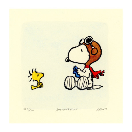 Snoopy + Woodstock // Woodstock Talks (Unframed)