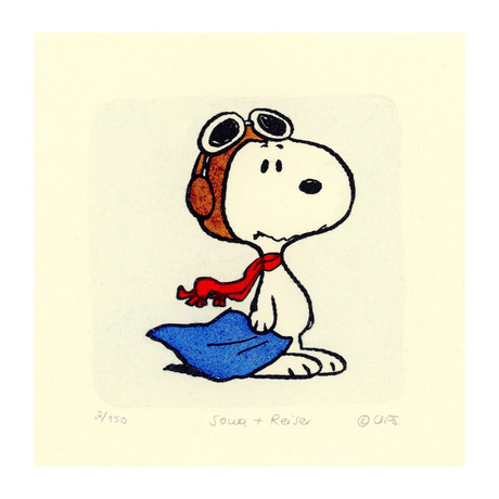 Snoopy // Pilot // TOMO EXCLUSIVE (Unframed)