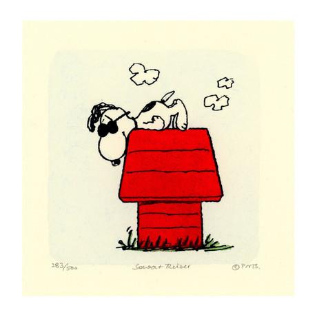 Snoopy // Dog House (Unframed)