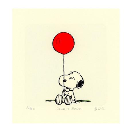 Snoopy // Balloon // TOMO EXCLUSIVE (Unframed)