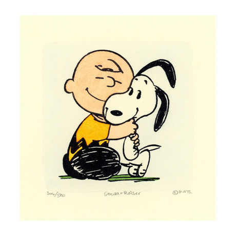 Charlie Brown + Snoopy // Smile (Unframed)