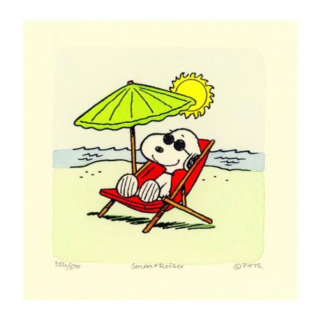 Snoopy // Beach (Unframed)