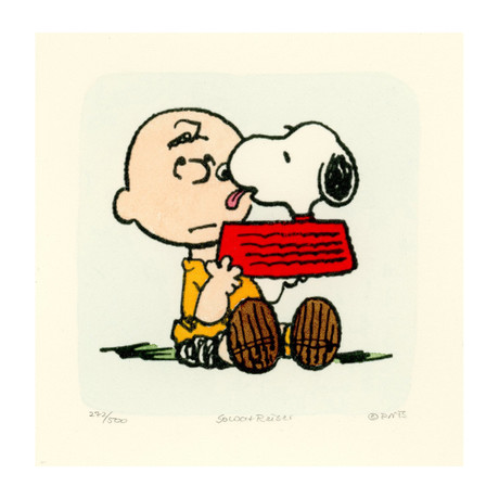 Charlie Brown + Snoopy // Luck (Unframed)