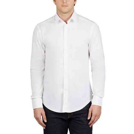 Versace Collection Men's Dress Shirt // White (38)