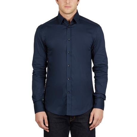 Versace Collection Men's Dress Shirt // Navy (38)