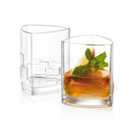 Revere Triangle Set // 2 Whiskey + 2 DOF + 4 Shot Glasses
