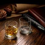 Round Whiskey Glasses // Set of 4