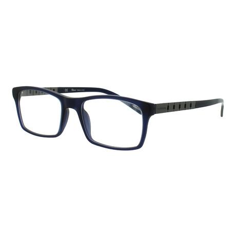 Chopard // Women's Square Optical Frames // Navy