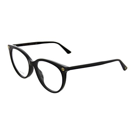 Gucci // Women's Cat Eye Optical Frames // Black