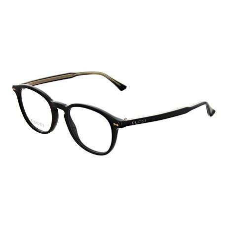 Gucci // Unisex Square Optical Frames // Black