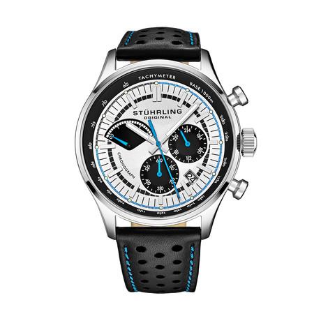 Stuhrling Original Monaco Chronograph Quartz // 934.01