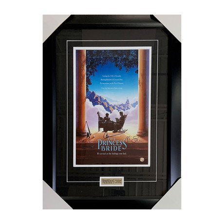 Princess Bride // Cast Signed // Framed Autographed Movie Poster