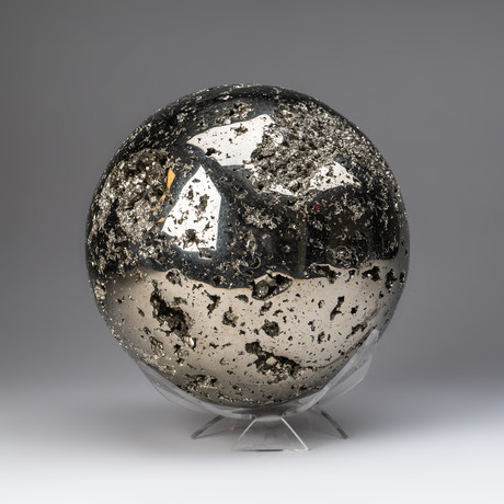 Large Pyrite Sphere