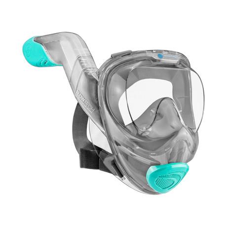 Seaview 180 V2 Snorkel Mask // Seafoam (Small)