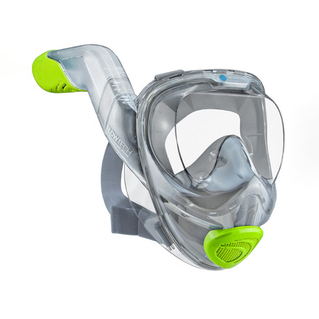 Seaview 180 V2 Snorkel Mask // Citrus (Small)