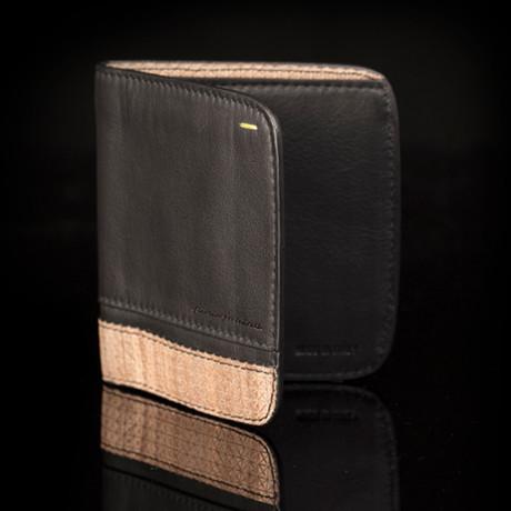 Vertical Wallet // Walnut