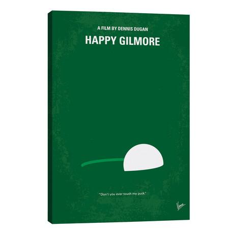 "Happy Gilmore Minimal Movie Poster // Chungkong (26""W x 40""H x 1.5""D)"