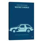 "Wayne's World Minimal Movie Poster // Chungkong (26""W x 40""H x 1.5""D)"