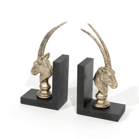 Zawadi Bookends // Set of 2