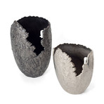 Terra Vase (Silver // Small)