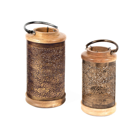 Annalise Lanterns // Set of 2