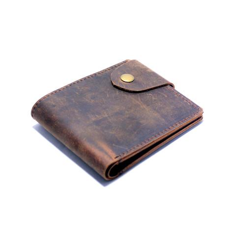 Buffalo Wallet // Brown