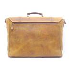 Buffalo Briefcase // Light Brown