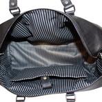 Cow Hide Duffel Bag // Black