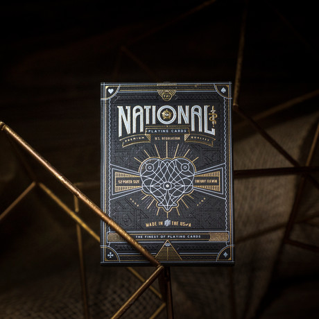 National Playing Cards // Set of 2