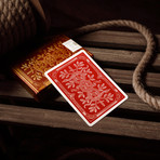 Monarch Playing Cards // Red // Set of 2