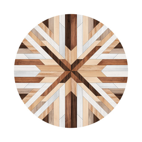 Marquetry // Assia Floor Mat (3.25' x 3.25')