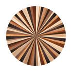 Marquetry // Amina Floor Mat (3.25' x 3.25')