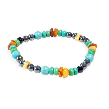Dell Arte // Beaded Bracelet // Multicolor