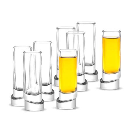 Square Shot Glasses // Set of 8