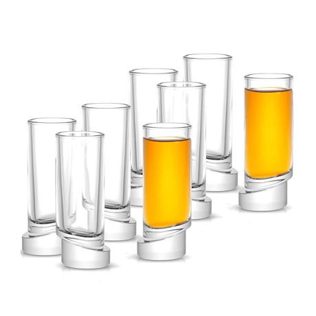 Round Shot Glasses // Set of 8
