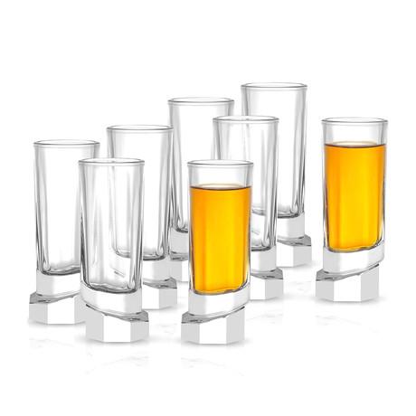 Octagon Shot Glasses // Set of 8