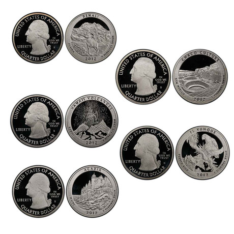 2010s U.S. Proof Coin Sets // Decade Set (128 Coins)