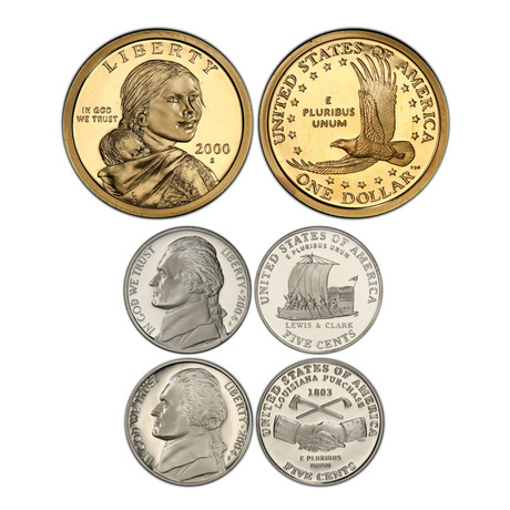 2000's U.S. Proof Coin Sets // Decade Set (122 Coins)