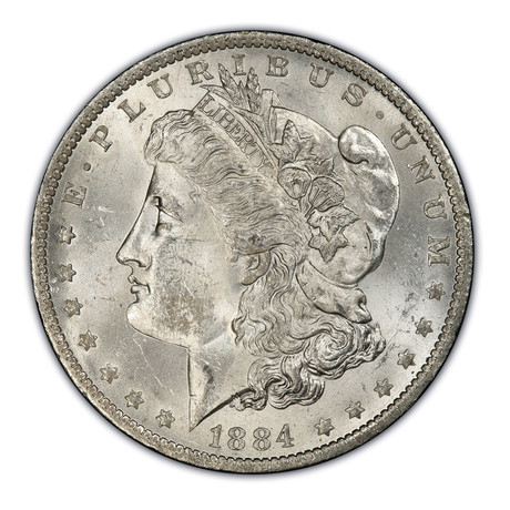 1878-1904 U.S. Morgan Silver Dollar // NGC Certified Mint State Condition
