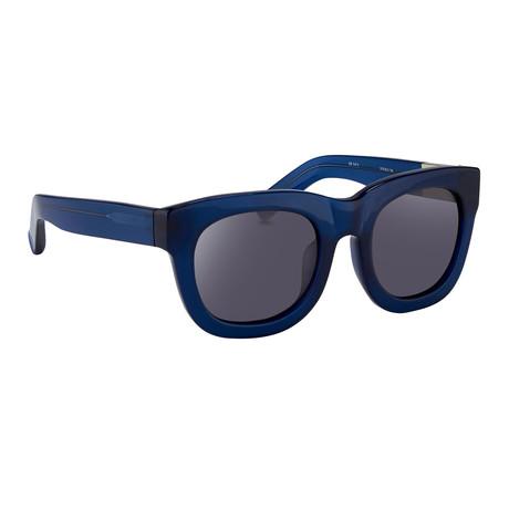 Men's PL159C4SUN Sunglasses // Deep Blue + Gray