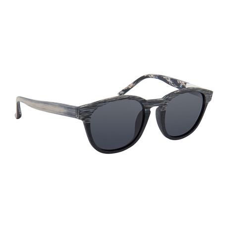 Men's PL168C1SUN Sunglasses // Gray + Black