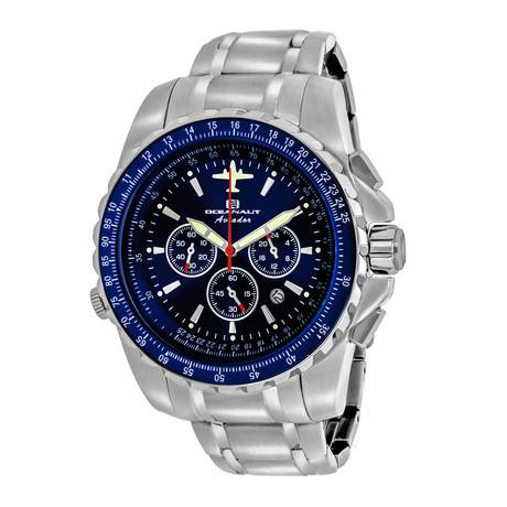 Oceanaut Aviator Pilot Chronograph Quartz // OC0114