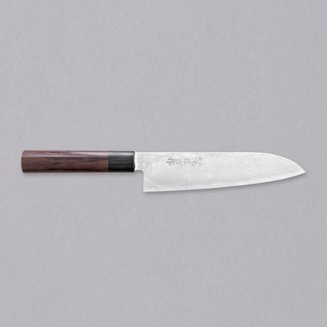 Santoku Knife // Damascus