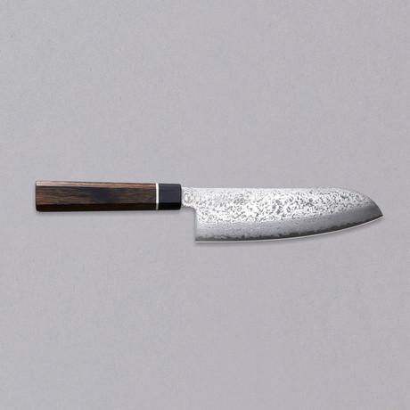 "Santoku Knife // Damascus // 7.1"""
